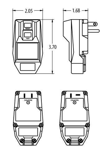 14880 232-6 gfci - ground fault receptacle
