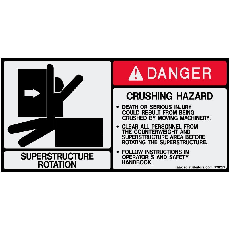 "Superstructure: Superstructure Rotation Safety 5.5"" X 11"""