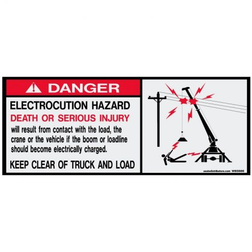 Electrocution Hazard - W85886 - Safety Decals - AAxis Distributors