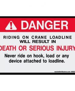 Crane Loadline 5x8 - W85890 - Vinyl Decals - AAxis Distributors